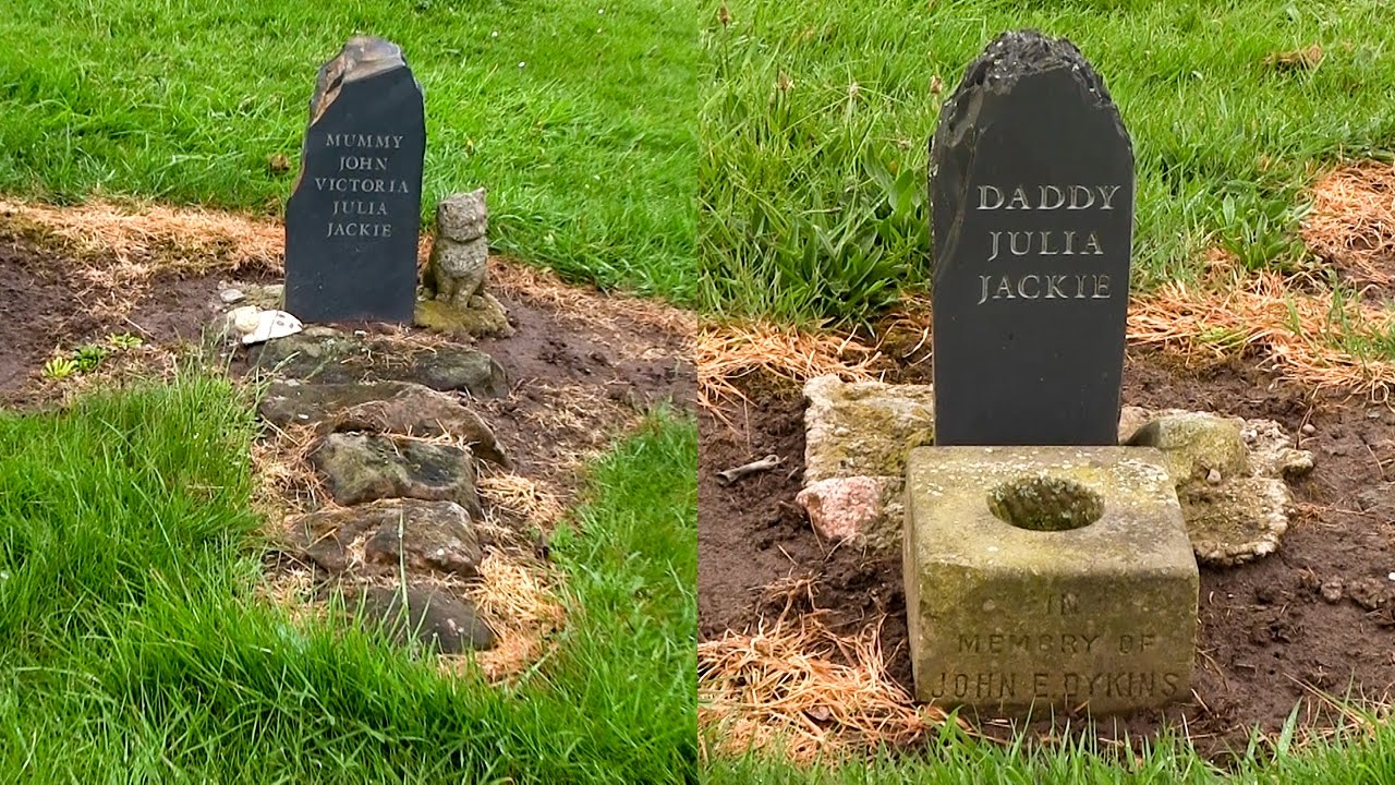 The Graves Of Julia Lennon And John Dykins In Allerton Cemetery Liverpool Beatles Site Youtube