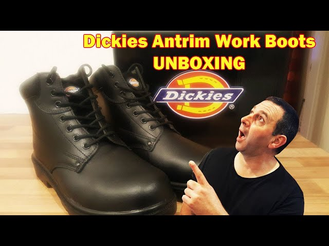 Dickies Antrim Work Boots Unboxing British Trucking