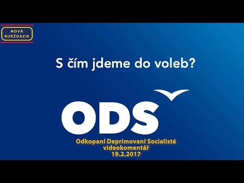ODS = dříve Občanská demokratická strana, dnes Odkopaní deprimovaní socialisté