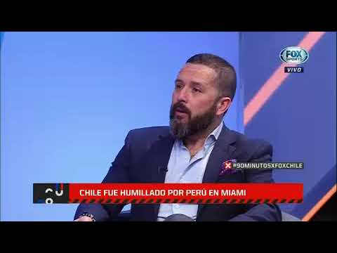 Chile mostró su peor cara ante Perú  FOX Sports