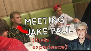 JAKE PAUL IGNORES US!!! +video proof