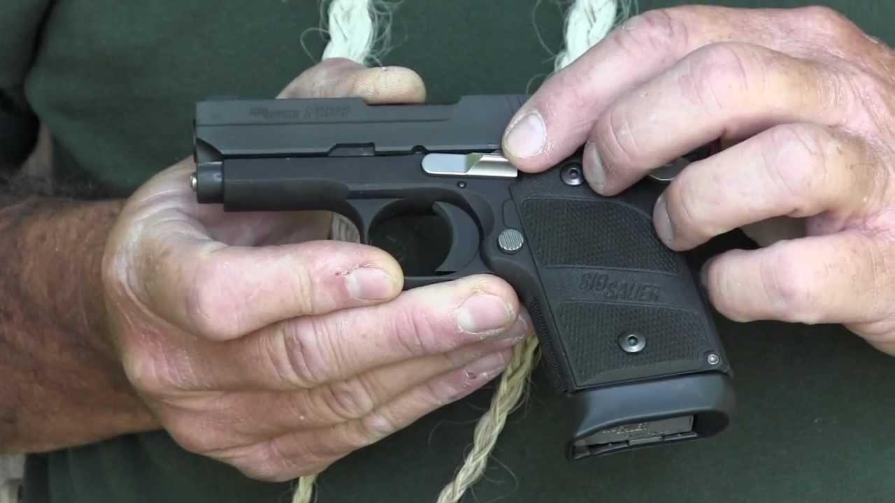 the best attitude dc720 d4ec5 Sig Sauer P938 Nightmare Compact 9mm Semi-Automatic Pistol - Gunblast.com -  YouTube