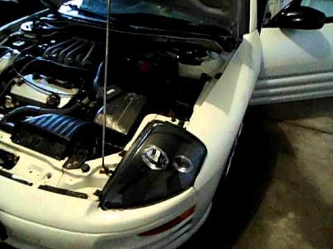 hqdefault how to install halo headlights mitsubish eclipse 01 [best way 2000 mitsubishi eclipse headlight wiring diagram at panicattacktreatment.co