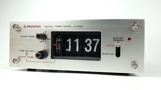 Retro Tech: Audio Timer - Pioneer JT 215A