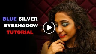 How To: Blue Silver Eyeshadow Makeup Tutorial | Eye Shadow | Makeup Tutorial | TBG Bridal Store