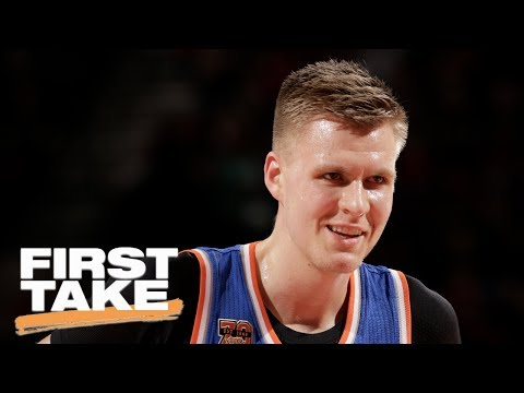 Are The Kristaps Porzingis Trade Rumors A Hoax?   First Take   June 21, 2017