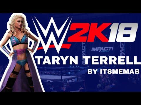 WWE2K18: Taryn Terrell
