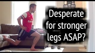 Soccer Workouts ? How To Get Stronger Legs For Soccer At Home