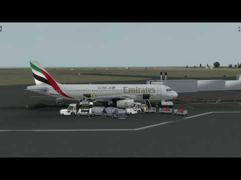from Beirut to Dubai (Emirates)