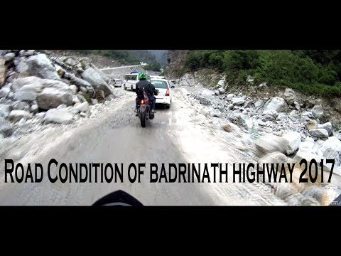 Road Condition Of Badrinath Highway