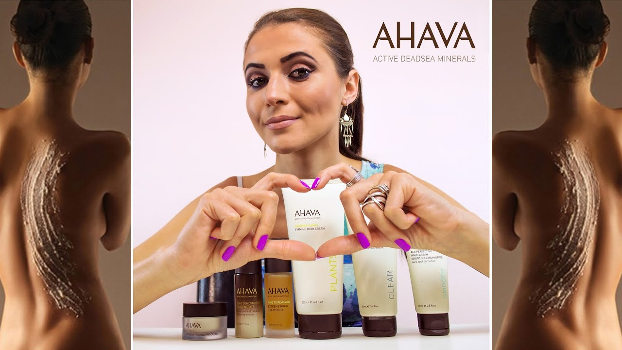 FREE AHAVA Skincare Products..
