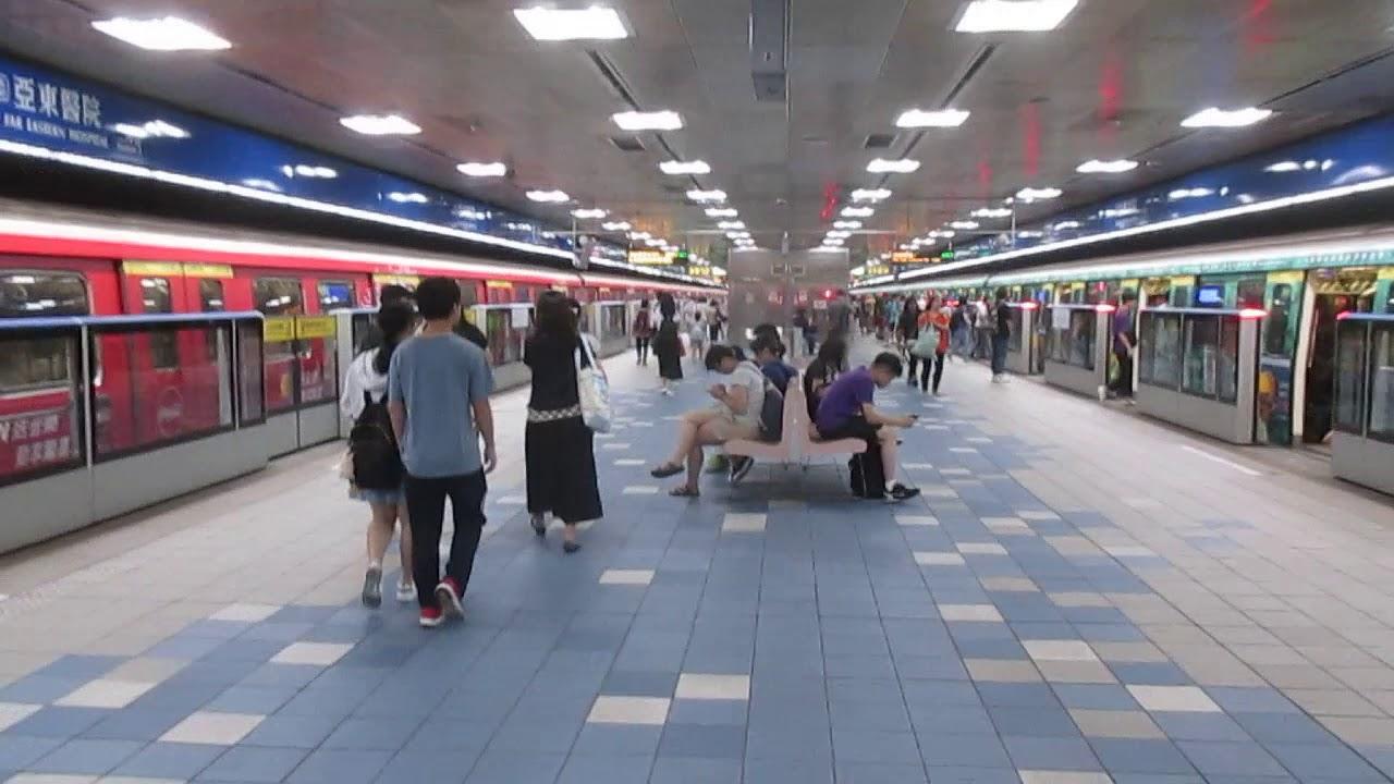 臺北捷運321/341型改裝車進出亞東醫院站 - YouTube