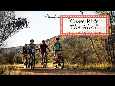 Come Ride The Alice - Mountain Biking With the Family