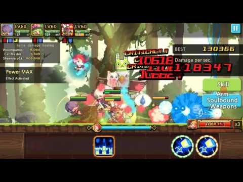 Crusader Quest   Shermie stick damage test INSANE