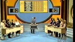 Family Feud Syndication January 1981 Richard Dawson