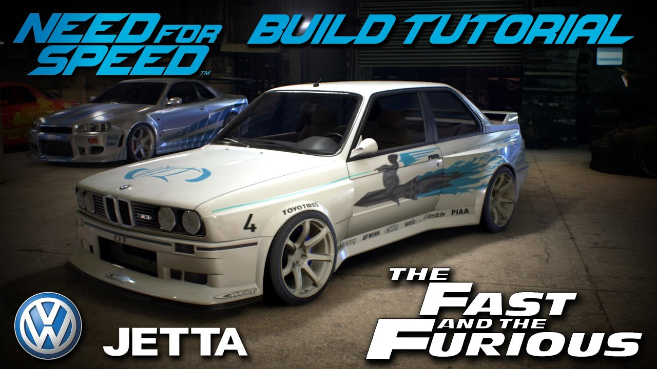 Need for Speed 2015 | The Fast & The Furious Jesse's Volkswagen Jetta Build Tutorial | How To ...