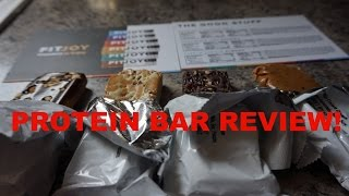 Fit Joy Protein Bar Review!