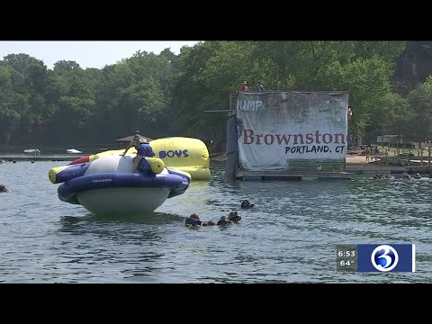 Liberty Bank Channel 3 Surprise Squad Visits Brownstone Exploration And Discovery Park