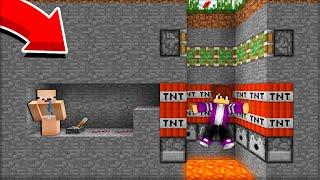 МЛАДШИЙ БРАТ ЗАТРОЛЛИЛ МЕНЯ РЕБЁНОК Vs ПИКСЕЛЬ В МАЙНКРАФТ 100 троллинг ловушка Minecraft
