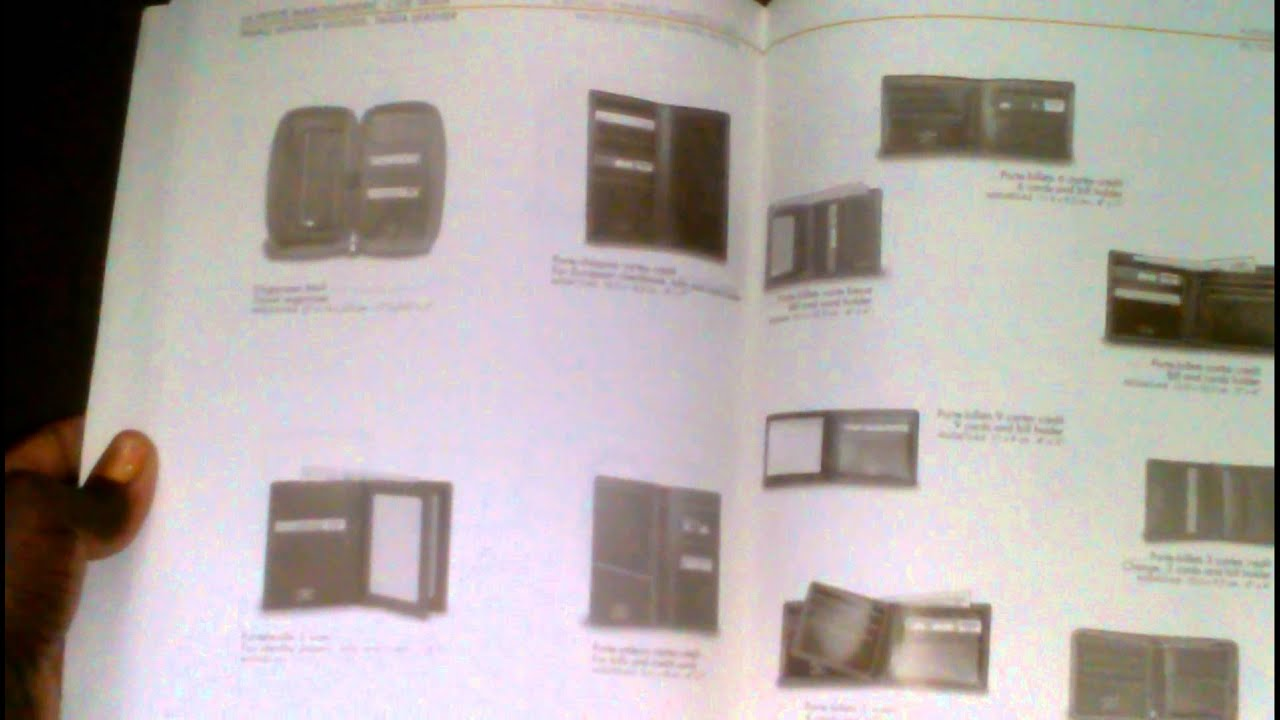 9e9700e7b51b Louis Vuitton Catalogue Copyright Paris 2001 - YouTube