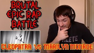 Cleopatra vs Marilyn Monroe. Epic Rap Battles of History {{REACTION}}
