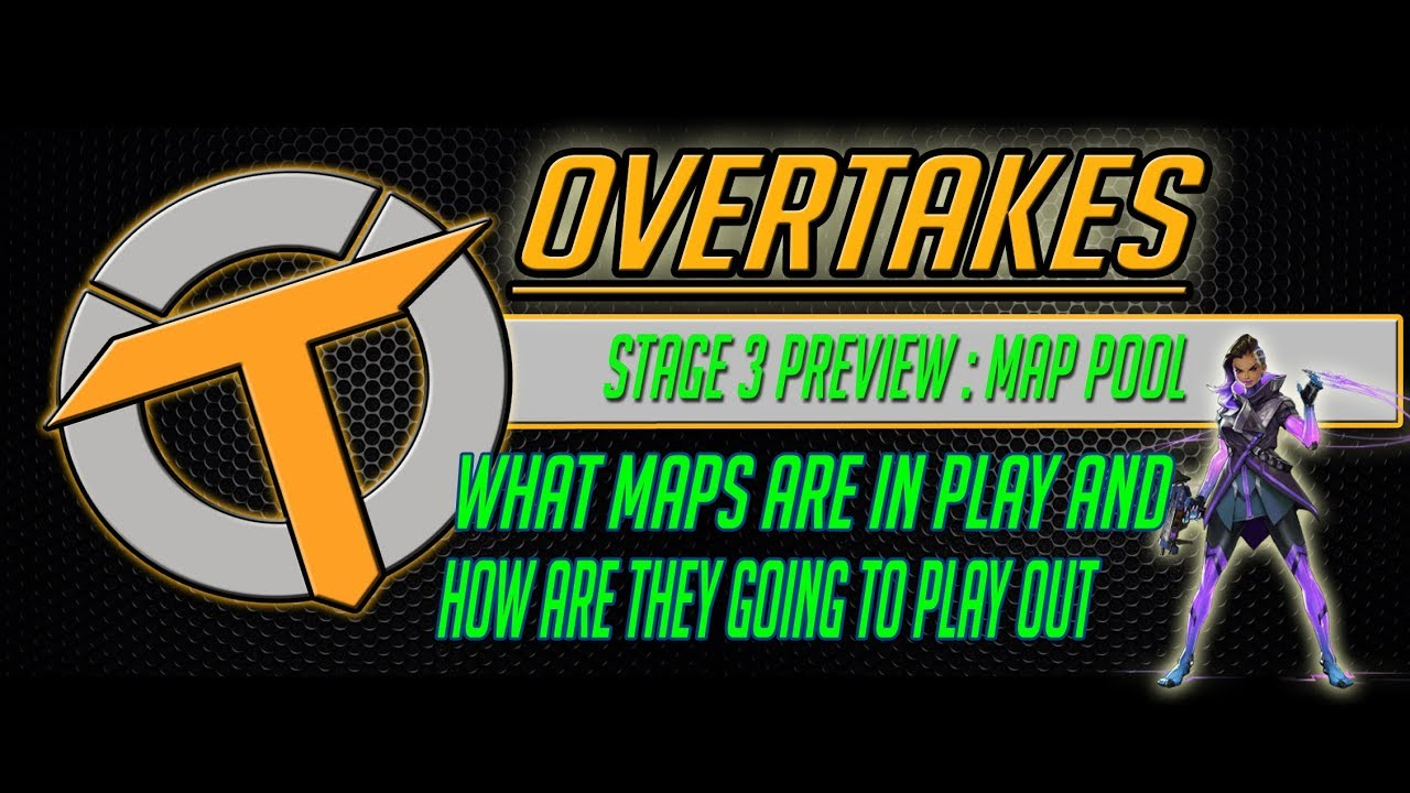 overwatch league map pool