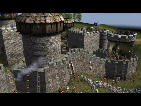 Офигенная Игра про Замки и Средневековье ! Битвы Рыцарей в Stronghold 2