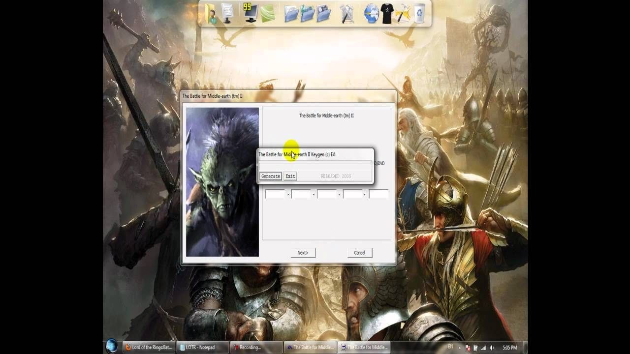 lord of the rings middle earth download