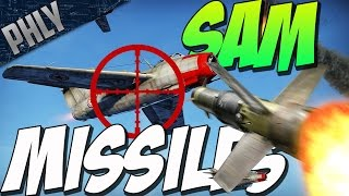 SURFACE TO AIR MISSILE - ATGM VS. PLANES (War Thunder 1.59 Gameplay)
