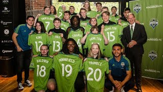 Sounders FC hosts Special Olympics Unified signing day
