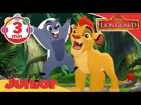 The Lion Guard | Zuka Zama Zom Zom Zom Song  | Disney Junior UK