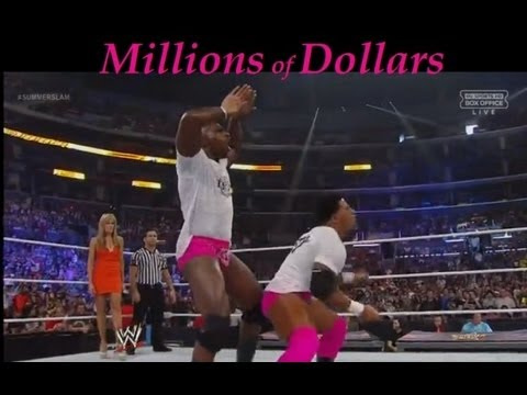 Prime Time Players Singing Millions Of Dollars- WWE NOC 2012