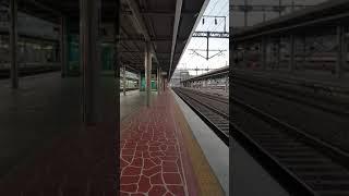 순천역 7600호대 견인 화물열차 정차