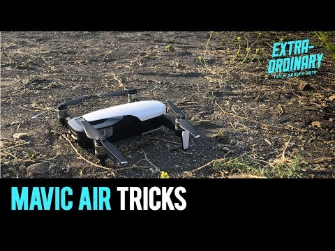 "Wingardium Leviosa?! Mavic Air ""magic"" tricks 
