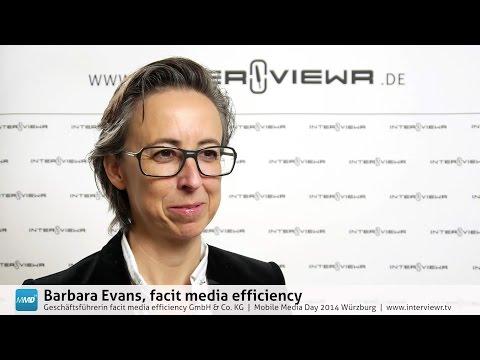 MMD Voices: Barbara Evans, facit media efficiency GmbH & Co. KG