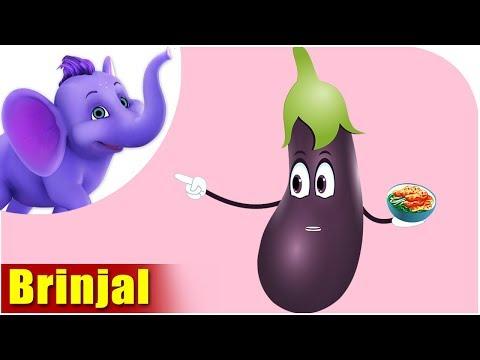 Brinjal - Vegetable Rhyme for Children