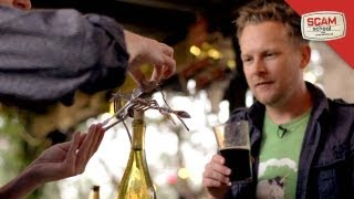 Scam Free Beers Using Forks And Spoons!