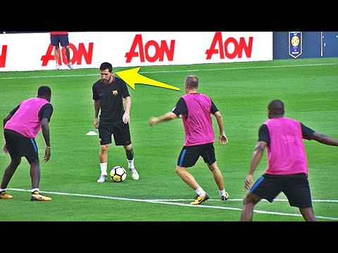 Lionel Messi ● Training Skills Show ●2017 New*   HD  