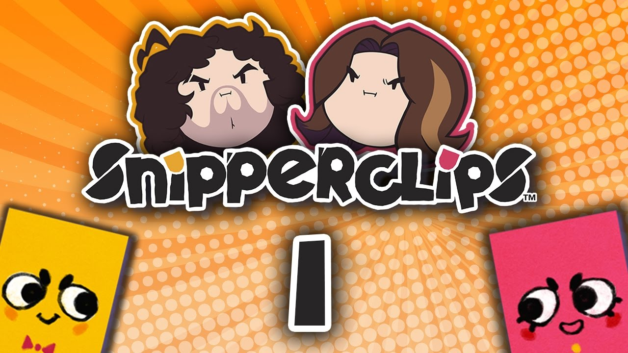 Snipperclips Clipping Eachother - Part 1 - Game Grumps -4020
