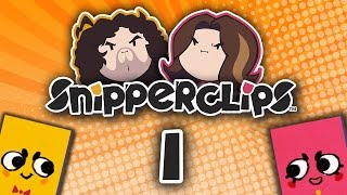 Snipperclips Clipping Eachother - PART 1 - Game Grumps