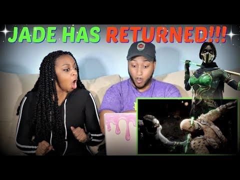 Mortal Kombat 11 Official Jade Character Reveal Trailer REACTION!!! thumbnail