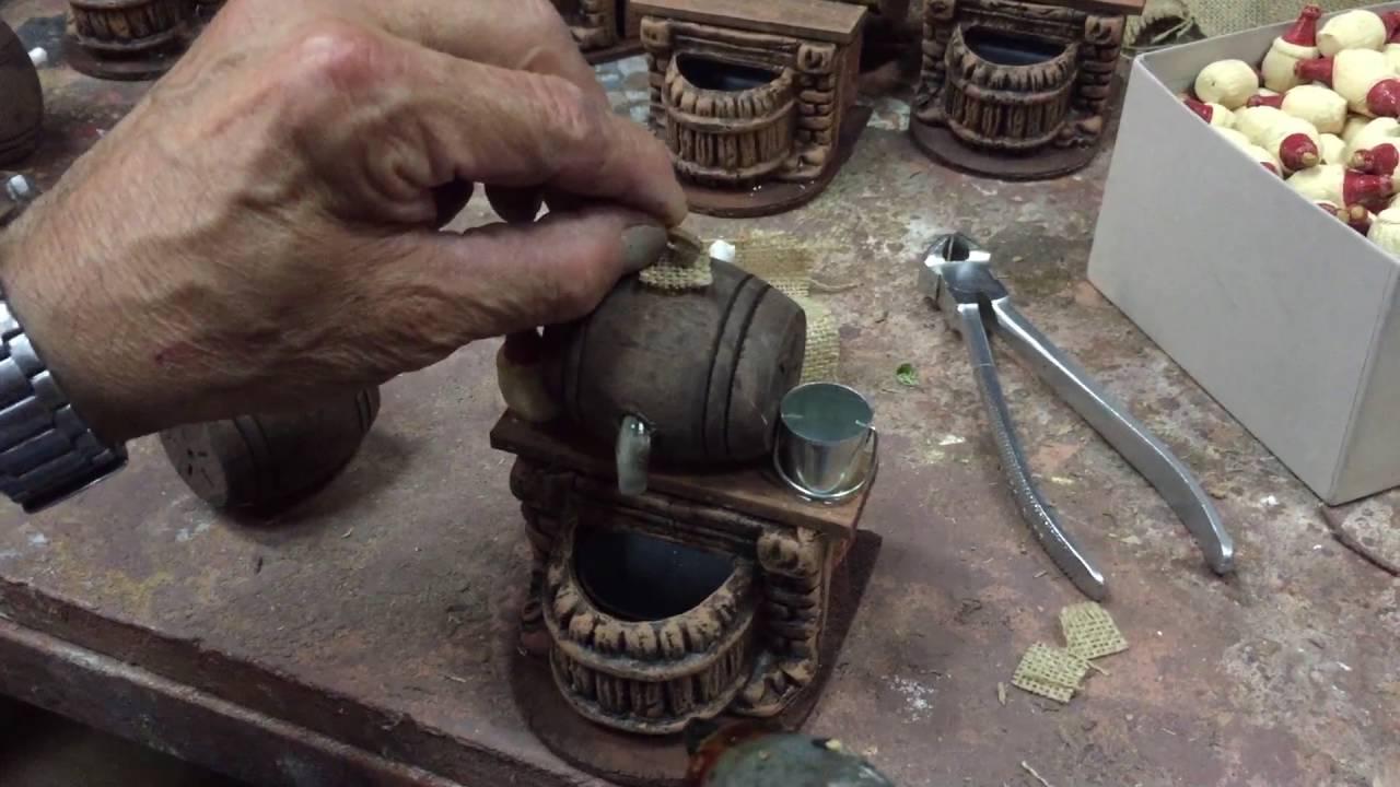 Tutorial come creare una fontana per presepe parte2 for Fontana presepe fai da te