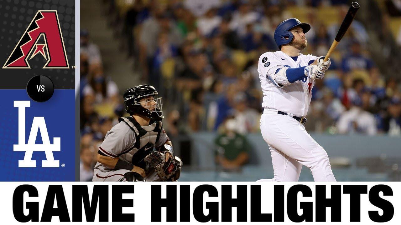 Download D-backs vs. Dodgers Game Highlights (9/14/21) | MLB Highlights
