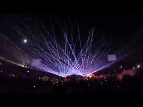 Knife Party - Internet Firends & LRAD Live @Ultra Europe 2014 | GoPro 1080p