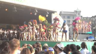 Samba Dance on Brazilian World Cup Opening Show @ Trafalgar Square June 2014