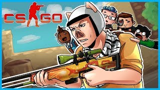 CS:GO Funny Moments & Fails! - Carrying My Friends, Silver Matches, Terroriser Gets Kicked! thumbnail