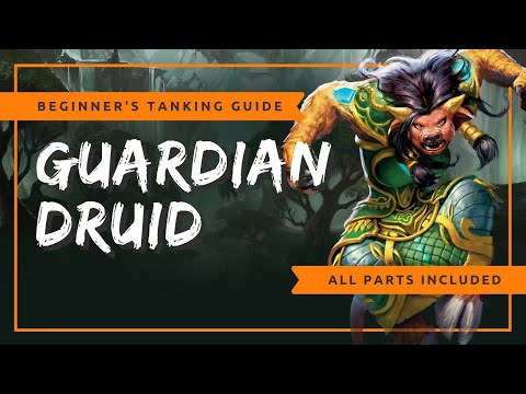 Beginner's Guardian Druid Tanking Guide | WoW BFA