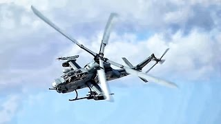 Viper Helicopters Fire Hydra Rockets & M197 Cannons • CASEX
