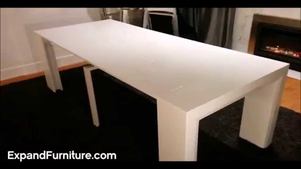 space saving furniture table. Space Saving Table Becomes Massive Dinner Expand Furniture YouTube O