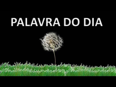 Palavra Do Dia 01out19
